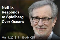 Netflix Responds to Spielberg Over Oscars