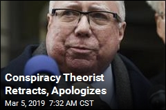 Conspiracy Theorist Retracts, Apologizes
