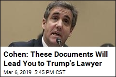 Cohen: Here Are My Lies, Edited by Trump's Lawyer