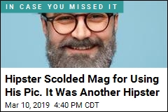 Do All Hipsters Look Alike? Man's Goof Suggests Yes