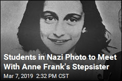 Anne Frank Stepsister to Meet With Students in Nazi Photo