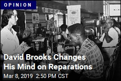 David Brooks Changes His Mind on Reparations