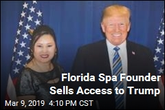 Florida Spa Founder Sells Access to Trump