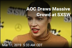 AOC Draws Massive Crowd at SXSW