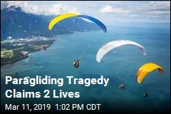 2 Paragliders Die After Crashing Into Each Other, Cliff