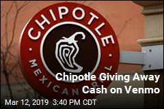Chipotle Giving Away Cash on Venmo
