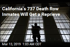 California Gov. to Freeze 'Immoral' Death Penalty