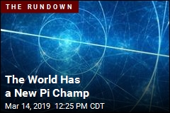 The World Has a New Pi Champ