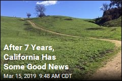 For First Time in 7 Years, California Is Drought-Free