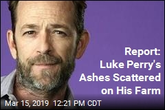 Report: Luke Perry's Ashes Scattered on Farm