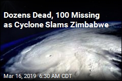 Dozens Dead, 100 Missing as Cyclone Slams Zimbabwe