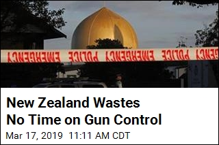 NZ Has Mass Shooting Friday; Moves on Gun Control Monday