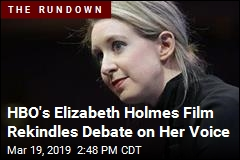 Today's Internet Obsession: Elizabeth Holmes' Voice