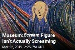 The Scream Figure May Not Actually Be Screaming