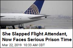 Passenger Faces Prison Time After Slapping Flight Attendant