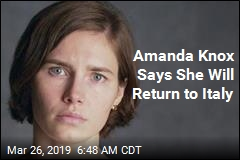 Amanda Knox Says She Will Return to Italy