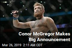 Conor McGregor Makes Big Announcement