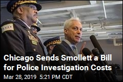 Chicago Sends Smollett a Bill for Police Investigation Costs