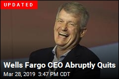 Wells Fargo CEO Abruptly Quits