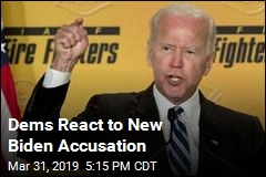 Dems React to New Biden Accusation