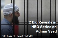 2 Big Reveals in HBO Series on Adnan Syed