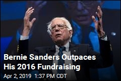 Bernie Sanders Outpaces His 2016 Fundaising