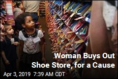 She Bought 204 Pairs of Shoes. None Are for Her