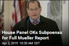 Rep. Nadler Given the OK to Subpoena Mueller Report