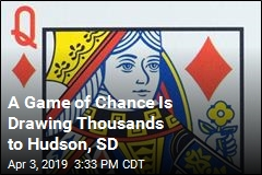 A Game of Chance Is Drawing Thousands to Hudson, SD