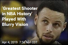 'Greatest Shooter in NBA History' Played With Blurry Vision