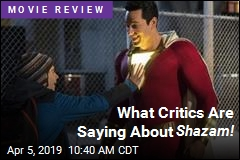 Shazam! —a Superhero Film That's Fun and Funny