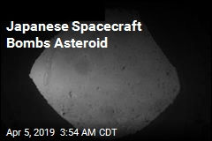 Japanese Spacecraft Bombs Asteroid
