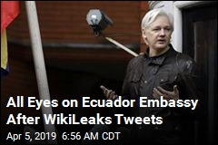 All Eyes on Ecuador Embassy After WikiLeaks Tweets