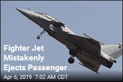 Fighter Jet Mistakenly Ejects Passenger