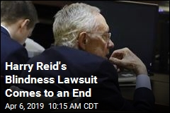 Harry Reid's Blindness Lawsuit Comes to an End