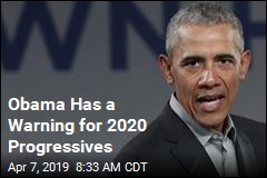 Obama Has a Warning for 2020 Progressives