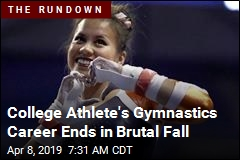 College Athlete's Gymnastics Career Ends in Brutal Fall