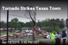 Tornado Strikes Texas Town