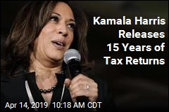 Kamala Harris Releases Tax Returns for the Past 15 years