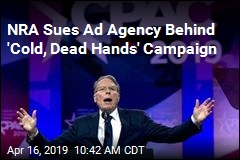 NRA Sues Ad Agency Behind 'Cold, Dead Hands' Campaign