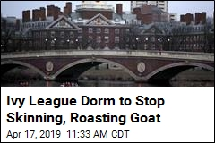 Ivy League Dorm to Stop Skinning, Roasting Goat