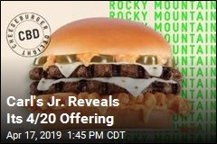 Carl's Jr. Goes 'Rocky Mountain High' for 4/20