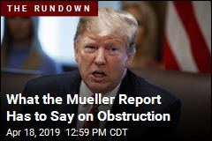 Why No Obstruction Conclusion? What Mueller Says