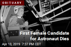 First Female Candidate for Astronaut Dies