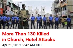 More Than 130 Killed in Church, Hotel Attacks