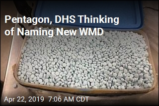 Pentagon, DHS Thinking of Naming New WMD