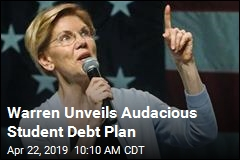 Warren's Big New Plan: Wipe Out Most Student Debt