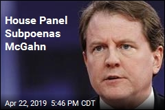 House Panel Subpoenas McGahn