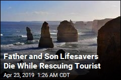 Father and Son Lifesavers Die While Rescuing Tourist