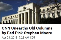 CNN Unearths Old Columns by Fed Pick Stephen Moore